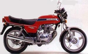 Honda CB400N 78
